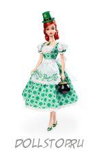 коллекционная кукла Барби Хозяйка Праздника - День Святого Патрика - Shamrock Celebration Barbie Doll