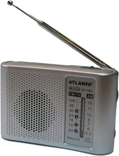 Радиоприёмник ATLANFA - 102 р/п