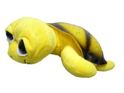 Ночник Огонёк D-307 (черепаха звёздное небо) Жёлтая