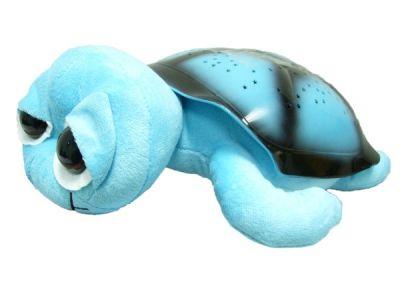 Ночник Огонёк D-307 (черепаха звёздное небо) Синяя