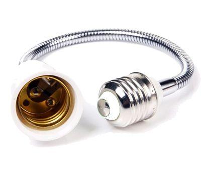 Переходник для LED ламп Огонёк АС-04 (Е27 на Е27 – 22см)