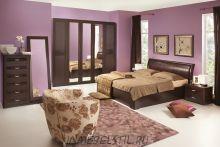 Спальня Парма венге (ясень шима)
