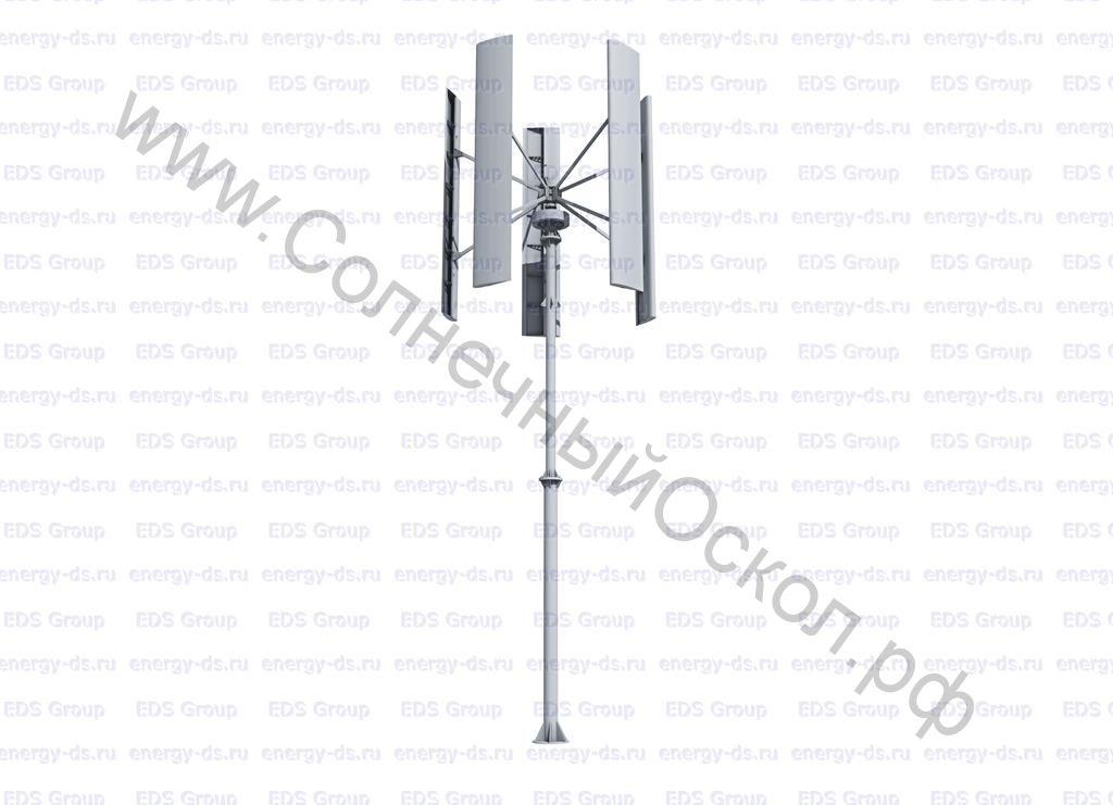 Вертикально-осевой ветрогенератор «Falcon Euro» - 10 кВт