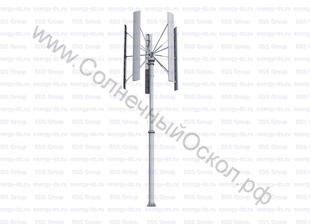 Вертикально-осевой ветрогенератор «Falcon Euro» - 15 кВт