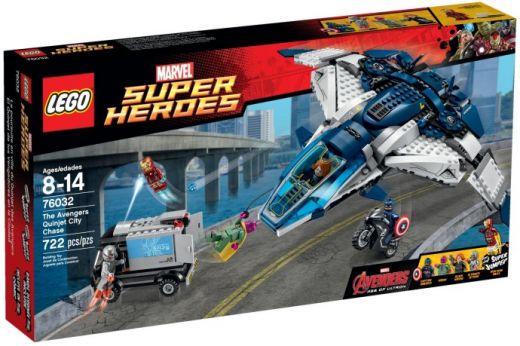 76032 Супер Герои: Погоня на Квинджете Мстителей Конструктор ЛЕГО Супергерои
