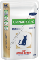 Royal Canin для кошек Urinary S/O, пауч 100 гр. уп. 12 шт.