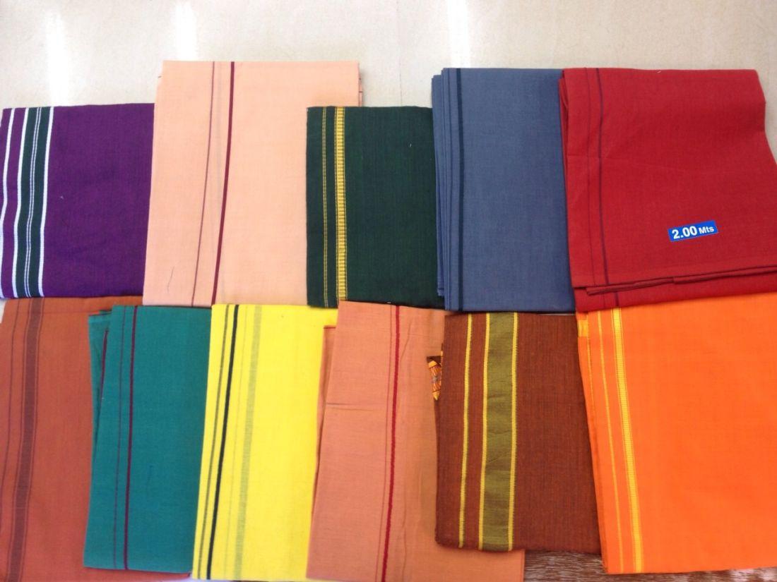 Индийские дхоти (отправка из Индии)