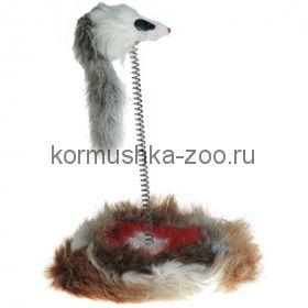 Flamingo мышь  на пружине