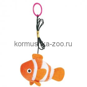 Flamingo рыбка nemo с кошачьей мятой