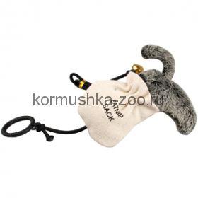Flamingo кот в мешке с кошачьей мятой