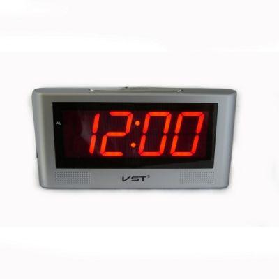 VST732-1 часы 220В крас.цифры