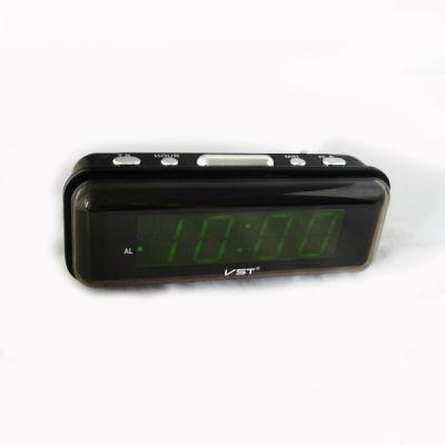 VST738-2 часы 220В зел.цифры