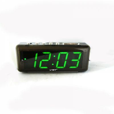 VST762-2 часы 220В зел.цифры