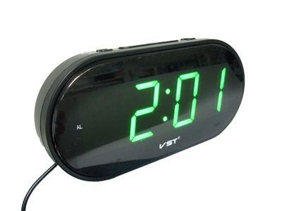 VST801-2 часы 220В зел.цифры