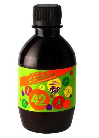 """Напиток Витаминно-минеральный """"42"""" (250 мл.)"""
