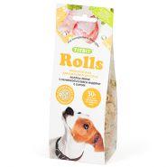 TiTBiT Печенье для собак Rolls Mini с начинкой из мяса индейки и сыра (100 г)