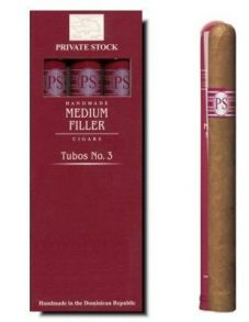 Private Stock Med. Fil. № 1 Tubos*3