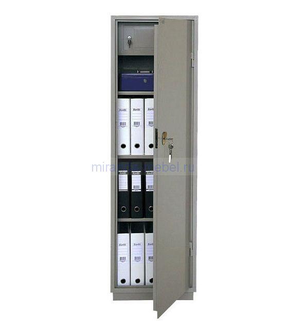 КБ - 031т / КБС - 031т Металлический бухгалтерский шкаф