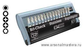 Набор бит (Bit-Check) WERA из нержавеющей стали (30 предметов) BC
