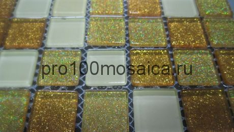 Shine Gold  Мозаика серия CRYSTAL, размер, мм: 300*300