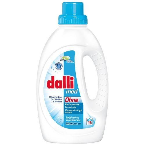 Dalli Гипоаллергенное средство для стирки Med 18 стирок 1,35 л