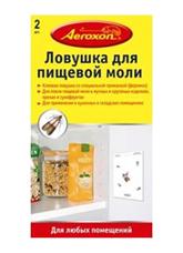 Аerokson Липкая ловушка для пищевой моли, для наклеивания или подвешивания 2 шт