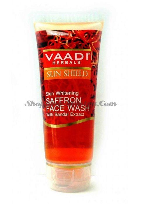 Осветляющий гель для умывания Шафран&Сандал Ваади (Vaadi Whitening Saffron Face Wash)