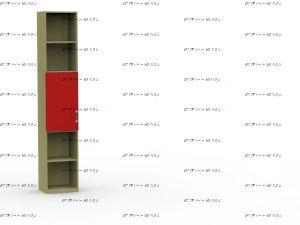 Шкаф одностворчатый Teen`s Home (17.211.10) 40х37х216