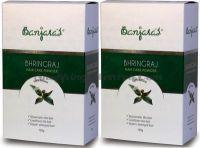 Порошок Бринградж натуральный кондиционер и маска для волос Банджарас (Banjara's Bhringraj Powder)
