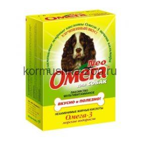 Омега NEO мультивитаминное лакомство для собак и щенков
