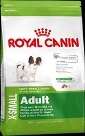Royal Canin X-small Adult для собак ( с 8 мес. до 8 лет) миниатюрных (до 4 кг) размеров 3 кг.