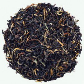 Чай с чабрецом - китайский черный чай с натуральными добавками.