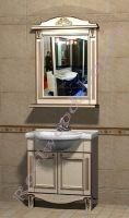 """Мебель в стиле Прованс в ванную """"Руссильон PROVENCE-75 светлое дерево"""""""