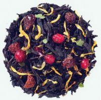 Ягодная поляна - черный цейлонский чай с натуральными природными ароматизаторами.