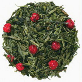 Фламинго   - смесь китайских сортов зеленого чая с натуральными растительными ароматизаторами.