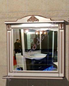"Зеркало ""Руссильон PROVENCE-100 светлое дерево"""
