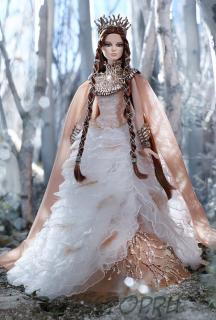 Коллекционная кукла Барби Леди Белого Леса - Lady of the White Woods Barbie Doll