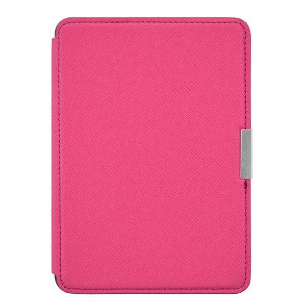 Обложка Texture для Amazon Kindle Paperwhite (Розовая / Магнитная застежка)