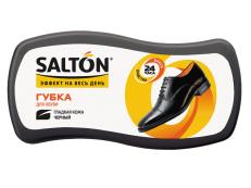 SALTON Губка ВОЛНА для обуви из гладкой кожи, черный