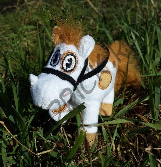 Плюшевая лошадка Барри