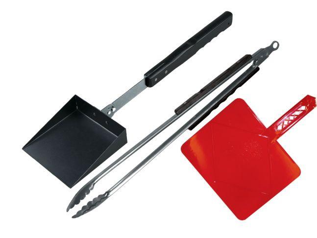 FORESTER Набор для работы с грилем: сет 3 предмета: щипцы, совок, раздувайка