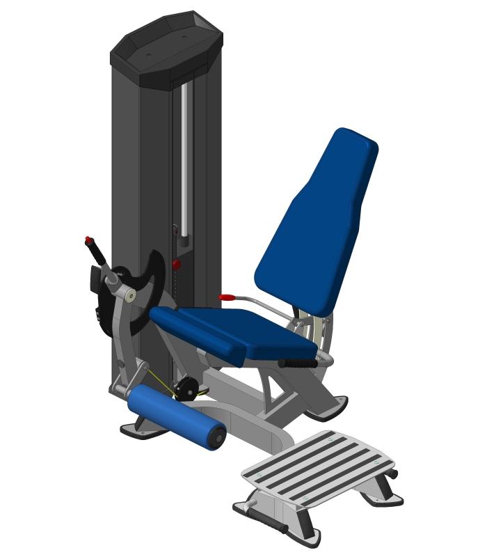 Разгибатель бедра + Платформа XR607S V-sport