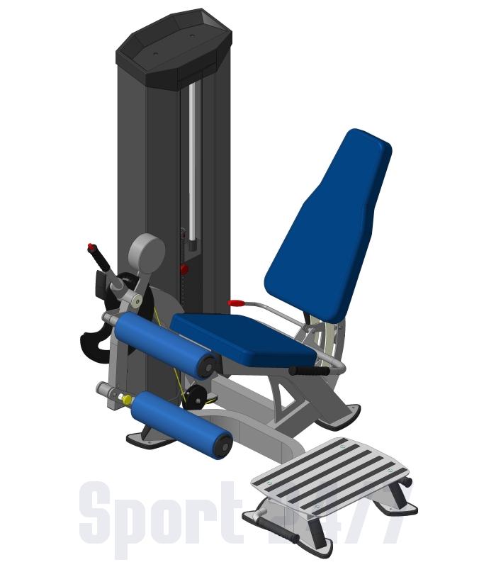 Сгибатель бедра + Платформа XR608S V-sport