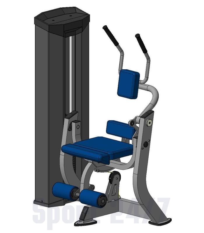 Тренажер для мышц брюшного пресса  XR616S  V-sport