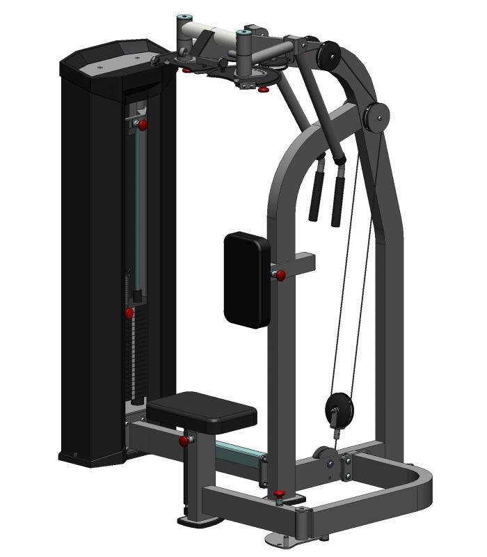 Тренажер для мышц груди и задних дельт  ХR624S V-sport
