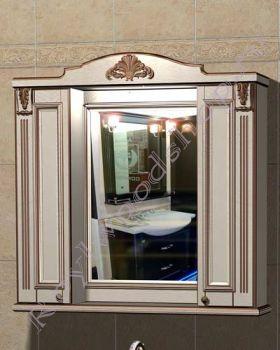 "Зеркало-шкаф ""Руссильон PROVENCE-100 светлое дерево"""