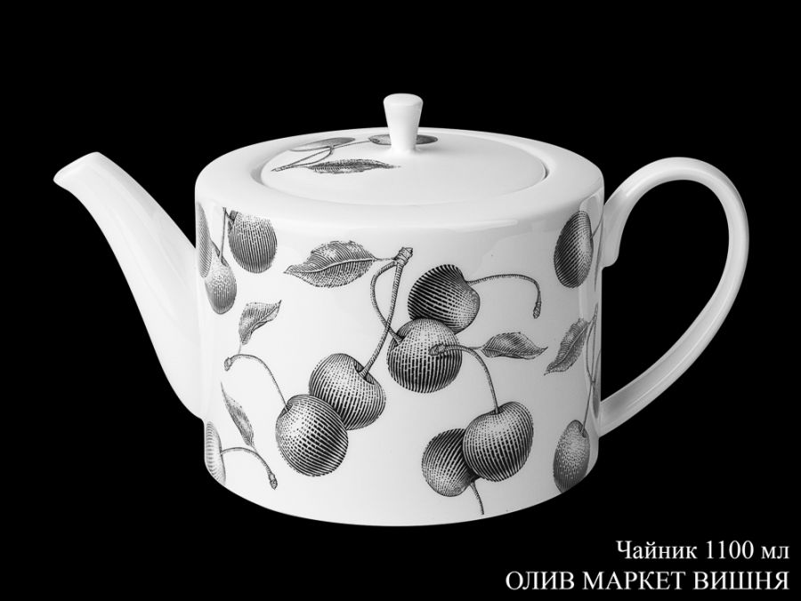 "Чайник 1100мл. ""Олив Маркет Вишня"""