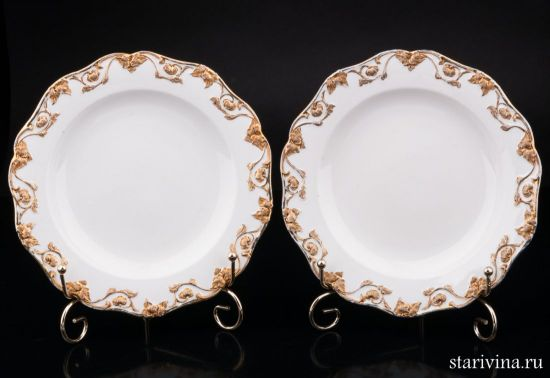 Две тарелки, Meissen, Германия, 2 пол. 20 в.