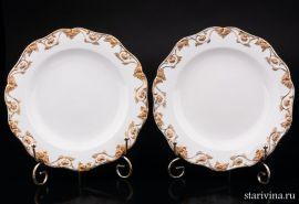Две тарелки, Meissen, Германия, 2 пол. 20 в