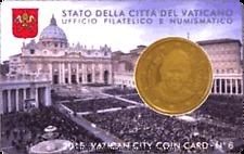Папа Франциск 50 центов Ватикан  2015 BU